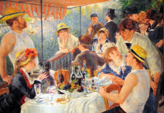 Photo du tableau 'Le déjeuner des canotiers' de Pierre Auguste Renoir