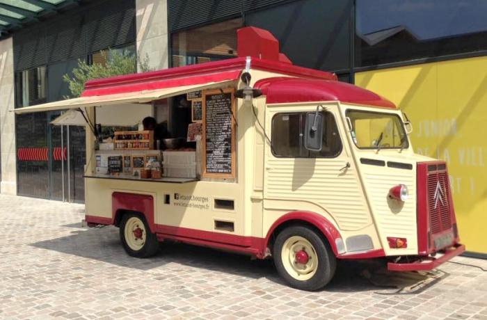 Photo d'un food truck